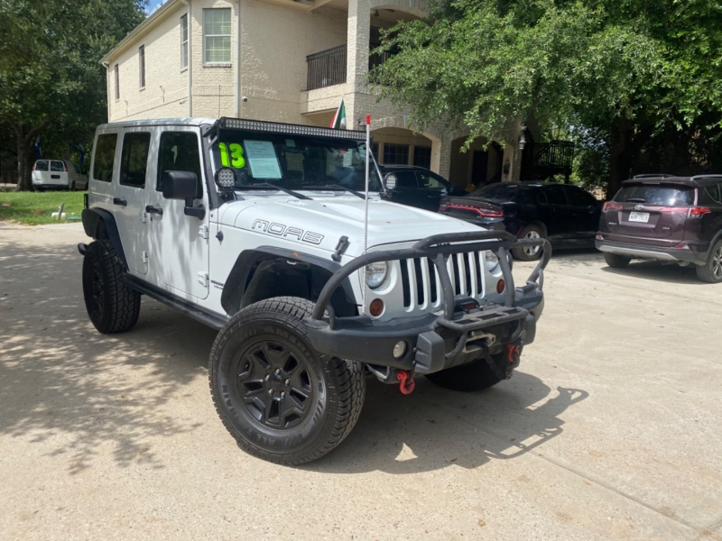 Jeep Wrangler Unlimited 2013 price $7,000