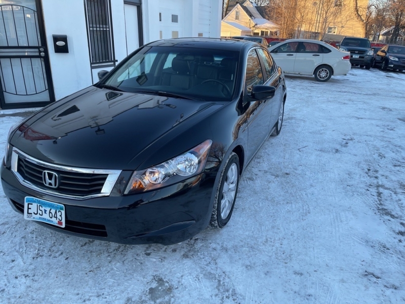 2010 honda accord sdn 4dr i4 auto ex-l w navi cars - saint paul, mn at geebo