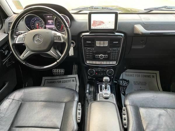Mercedes-Benz G-Class 2016 price $68,995