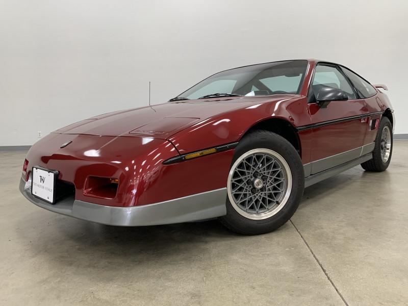 Pontiac Fiero 1987 price $16,997