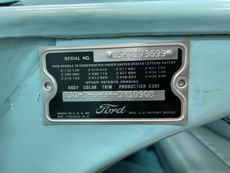 Ford Fairlane 1955 price Call for Price