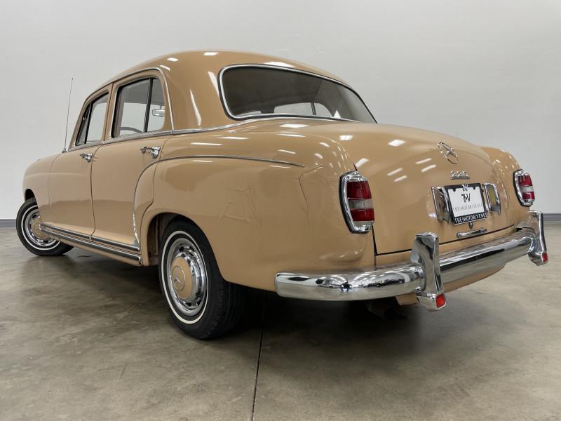 Mercedes-Benz 220A 1955 price $23,977