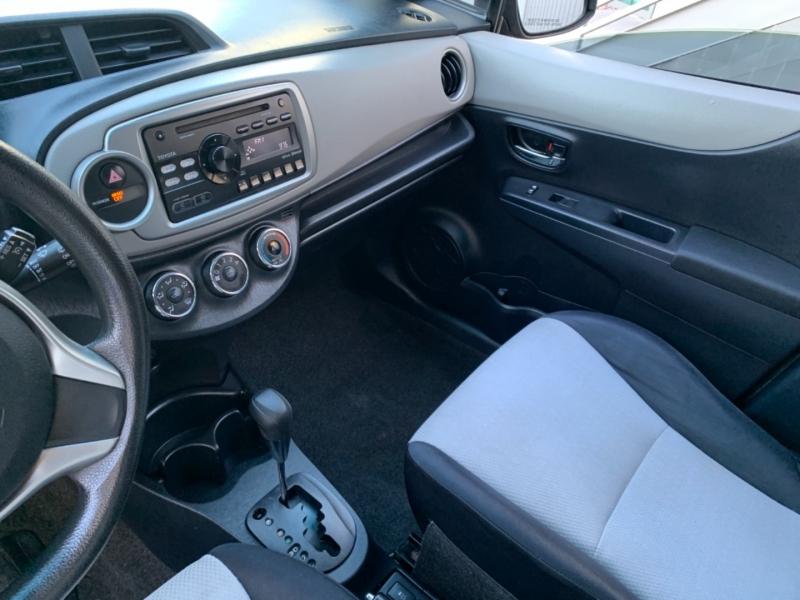 Toyota Yaris 2012 price $6,999