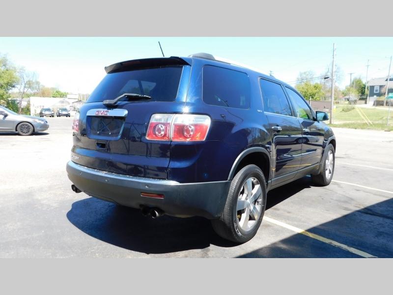 GMC Acadia 2012 price $8,500