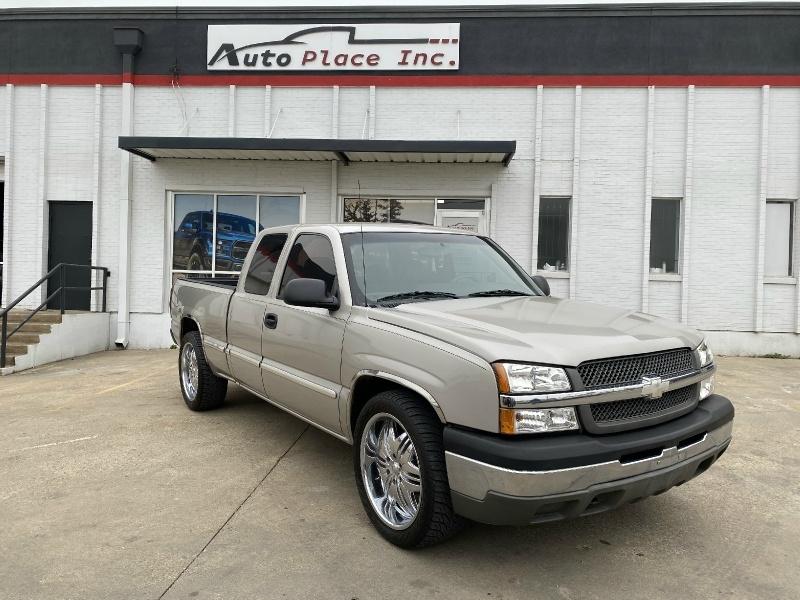 2004 Chevrolet Silverado 1500 Ext Cab 143 5 Wb Work Truck Auto Place Inc Dealership In Dallas