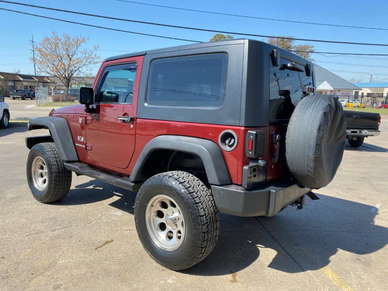 Jeep Wrangler 2007 price $15,990
