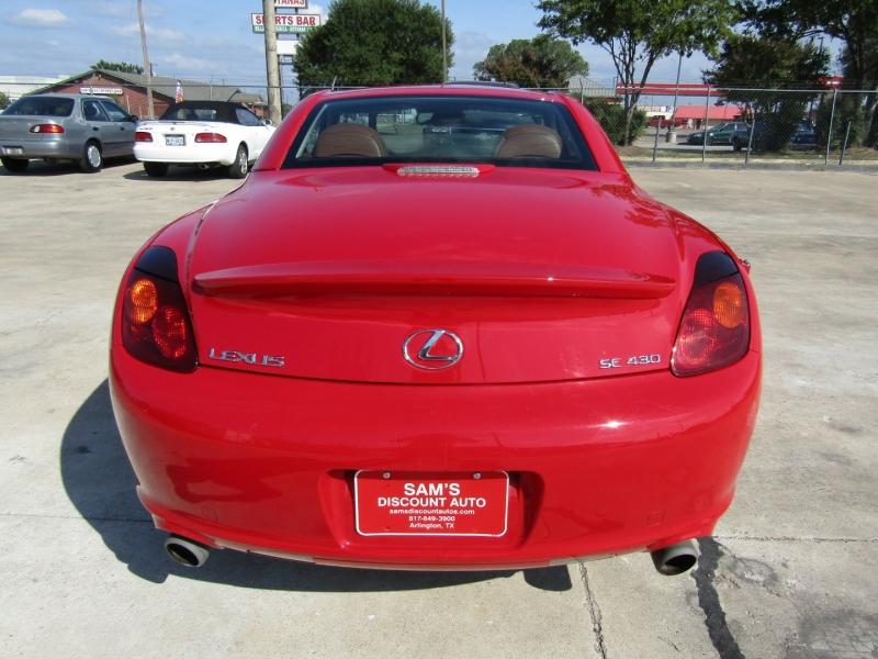 Lexus SC 430 2002 price $11,250