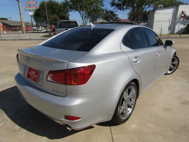 Lexus IS 350 2009 price $8,750