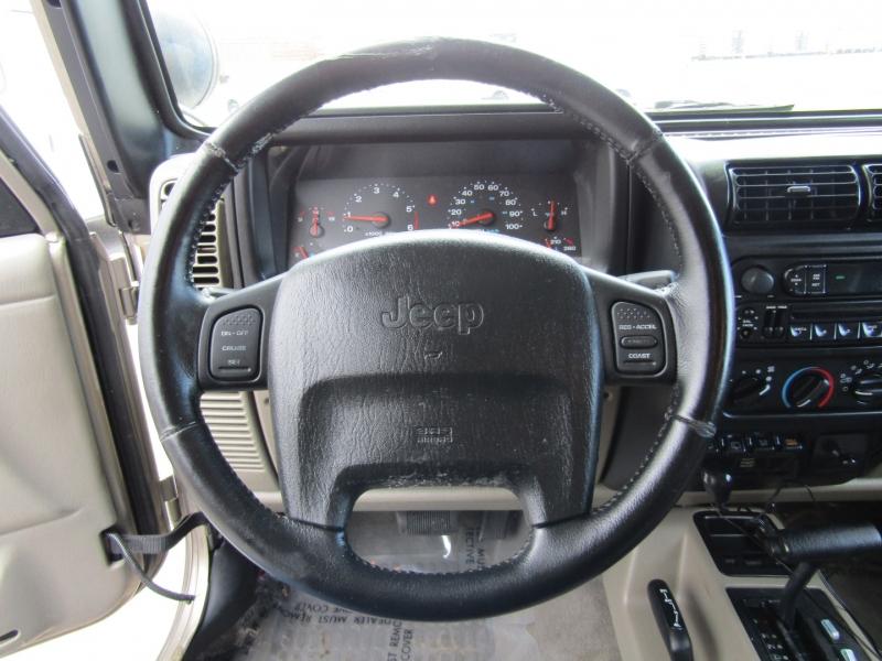 Jeep Wrangler 2003 price $12,444