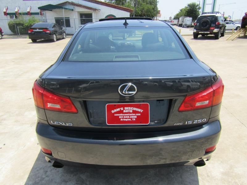 Lexus IS 250 2007 price $8,944