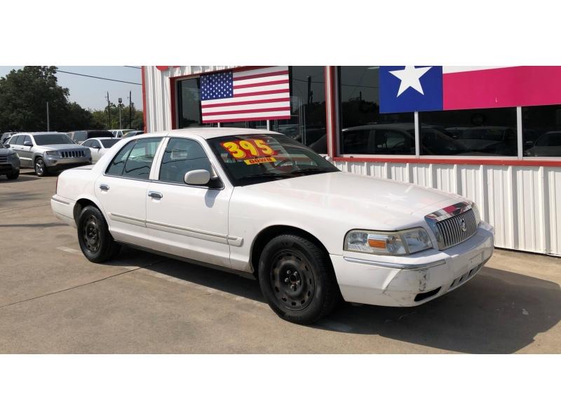 Mercury Grand Marquis 2008 price $3,995