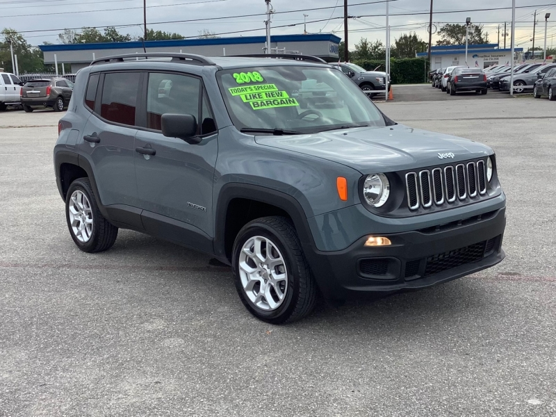 Jeep Renegade 2018 price $17,995