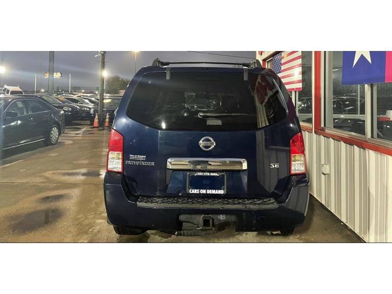 Nissan Pathfinder 2007 price $5,995