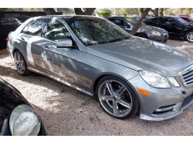 Mercedes-Benz E-Class 2012 price $8,500