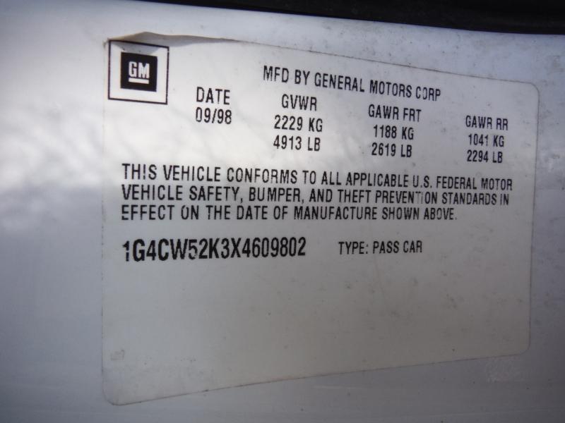 Buick Park Avenue 1999 price $3,500