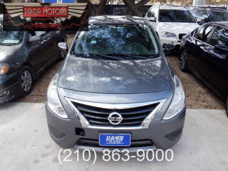 Nissan Versa 2017 price $6,500