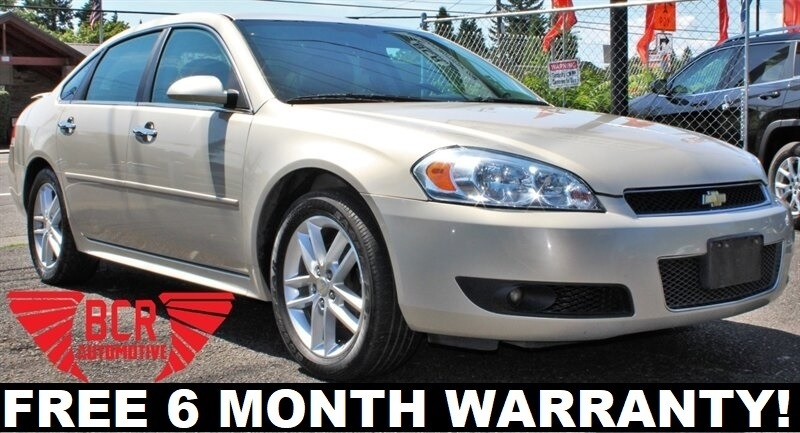 2012 Chevrolet Impala Ltz 4dr Sedan Bcr Automotive Inc Dealership In Portland