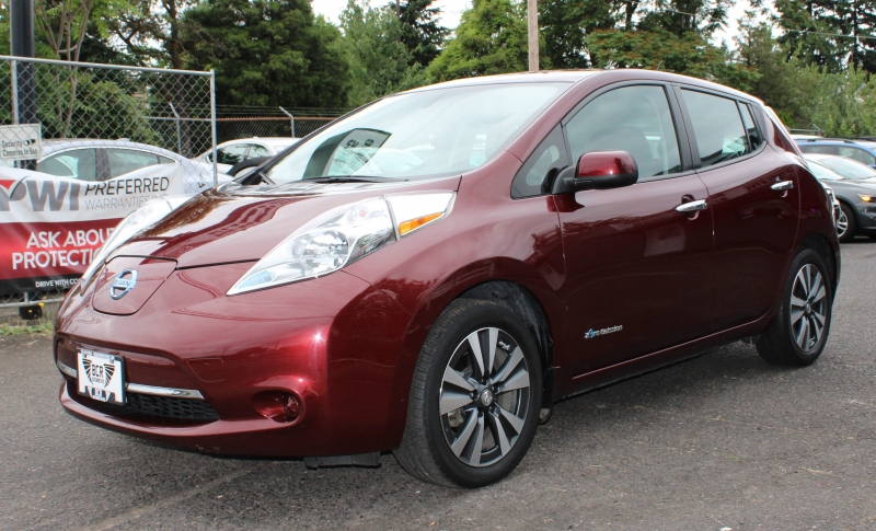 Nissan LEAF 2016 price $9,991