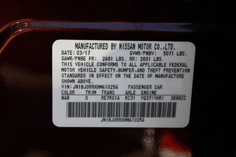 Infiniti QX50 2017 price $23,291