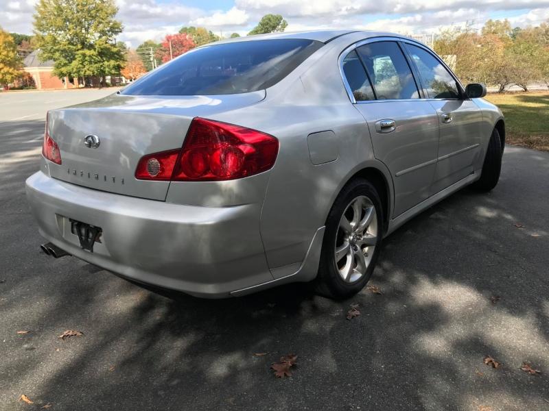 Infiniti G35 Sedan 2006 price $5,995