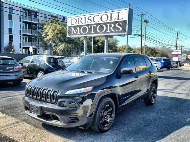 Jeep Cherokee 2016 price $12,500