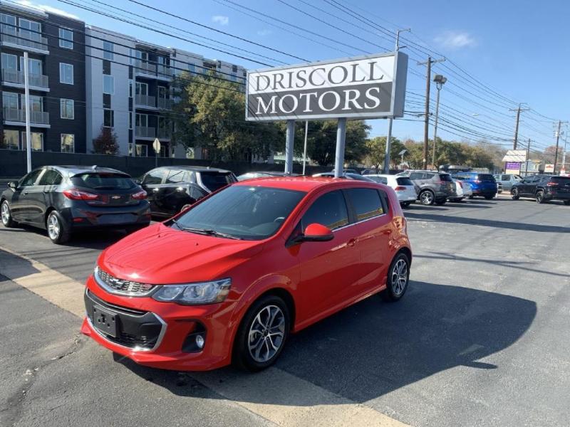 Chevrolet Sonic 2018 price $13,600