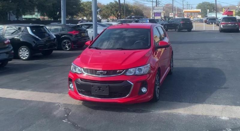 Chevrolet Sonic 2018 price $12,900
