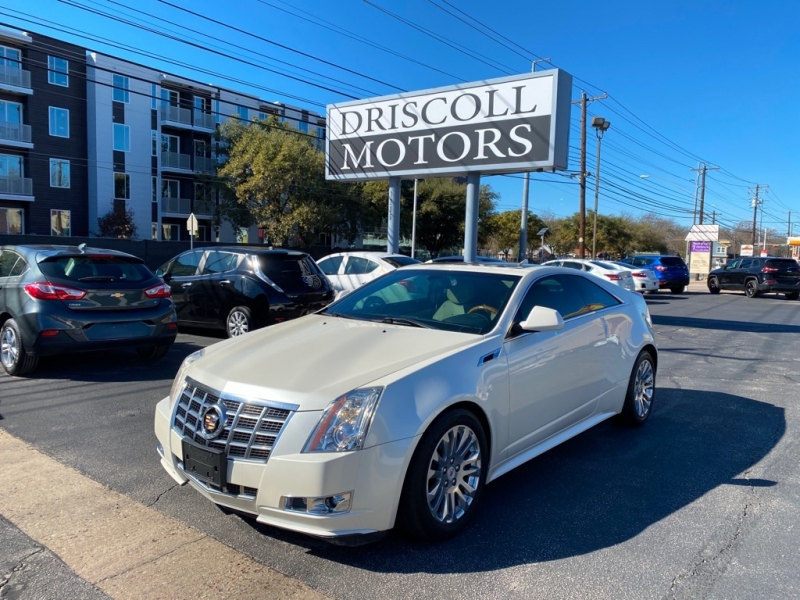 Cadillac CTS Coupe 2014 price $16,500