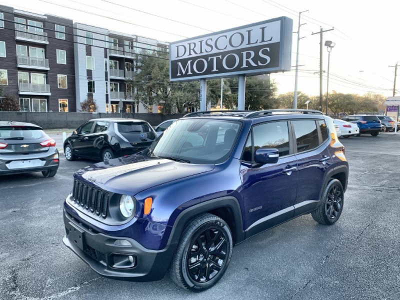 Jeep Renegade 2018 price $16,600