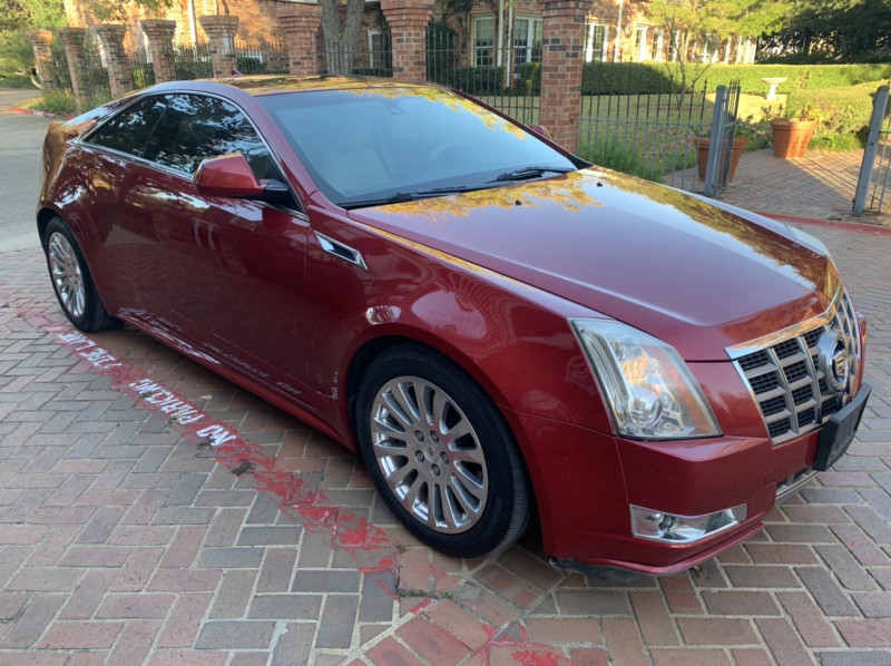 Cadillac CTS Coupe 2012 price $8,998