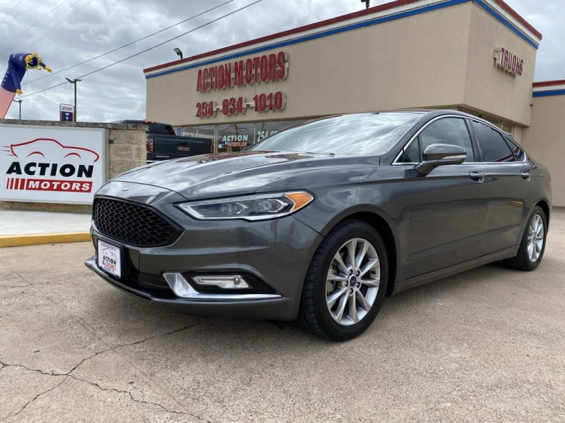 Ford Fusion 2017 price $16,888