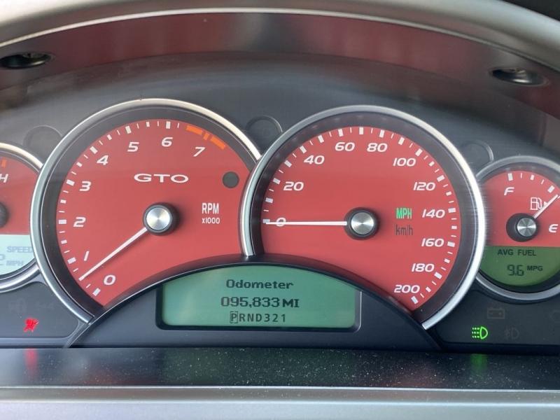 Pontiac GTO 2006 price $17,488