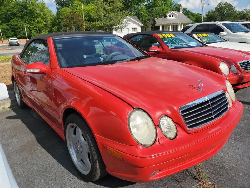 Mercedes-Benz CLK-Class 2001 price $4,900