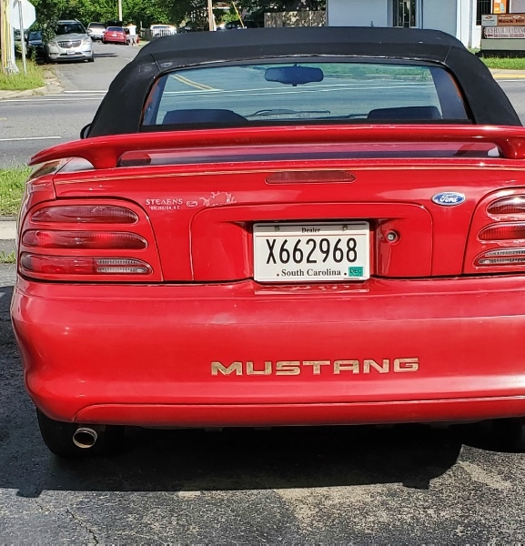 Ford Mustang 1995 price $4,700