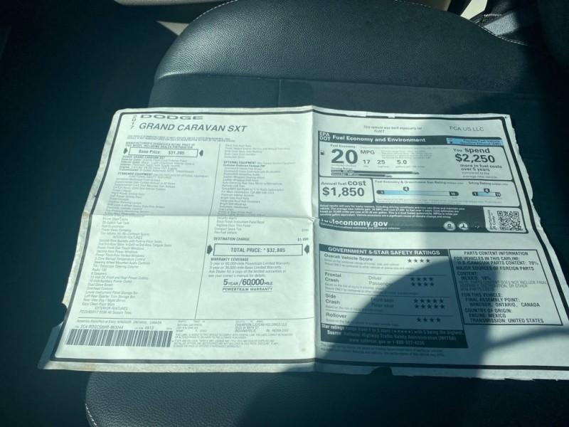 DODGE GRAND CARAVAN 2017 price $17,900