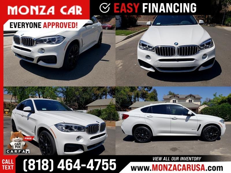 BMW X6 2018 price $53,970