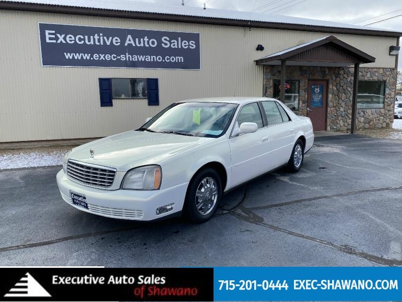 Cadillac DeVille 2004 price $4,490