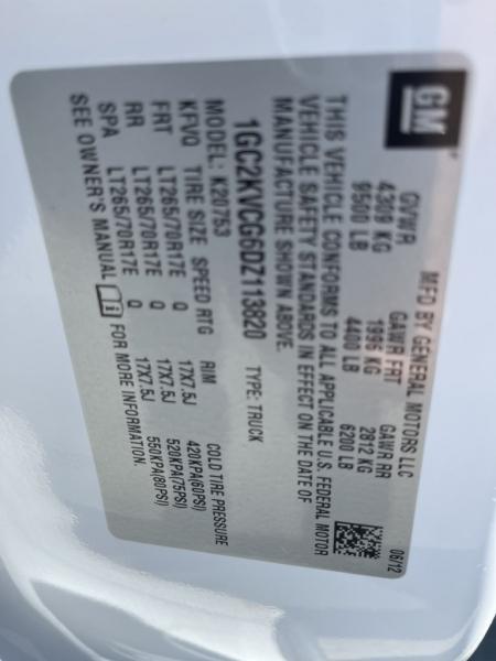 CHEVROLET SILVERADO 2500 2013 price $34,490