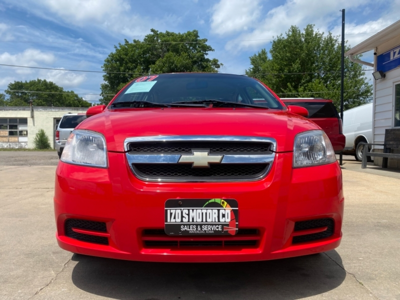 Chevrolet Aveo 2007 price