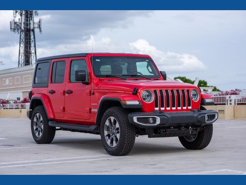 Jeep Wrangler Unlimited 2020 price $51,900