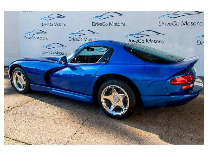 Dodge Viper 1996 price $92,500