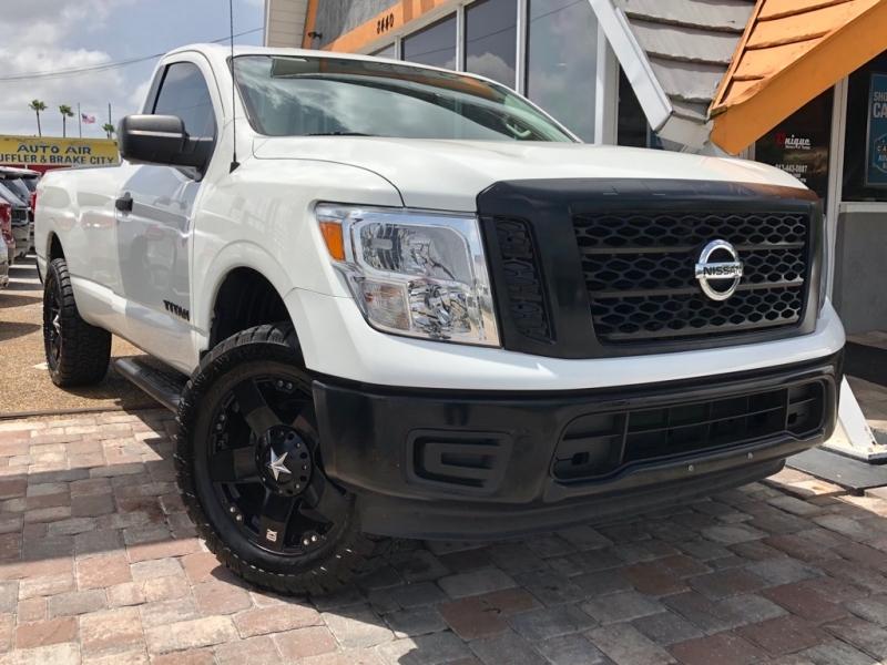 NISSAN TITAN 2017 price $20,990