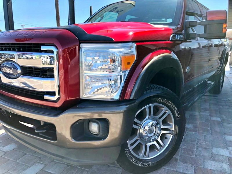 FORD F350 KING RANCH 2016 price $40,990