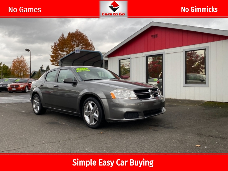 DODGE AVENGER 2013 price $6,950