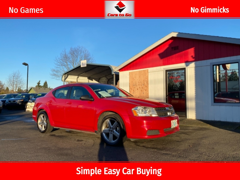 DODGE AVENGER 2013 price $4,995