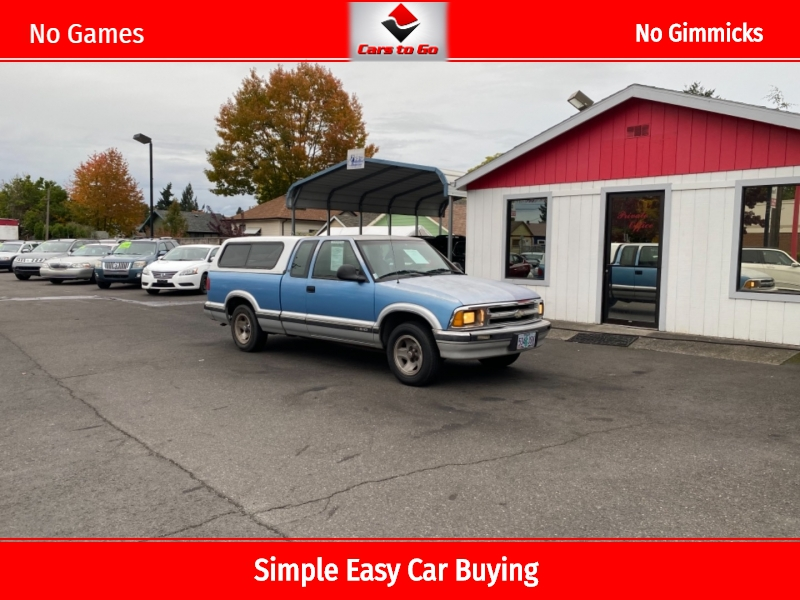 CHEVROLET S10 EXTENDED CAB 1996 price $2,995