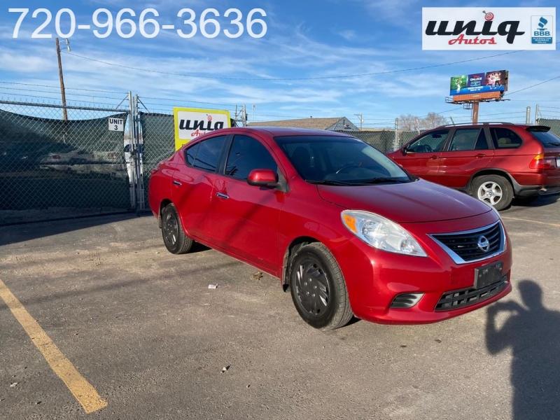 Nissan Versa 2012 price $5,298