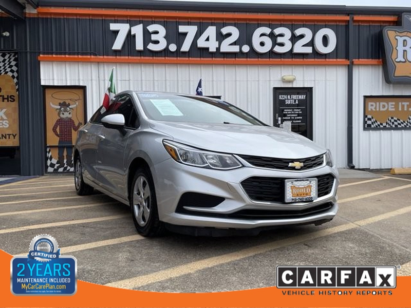 Chevrolet Cruze 2018 price $1,900 Down