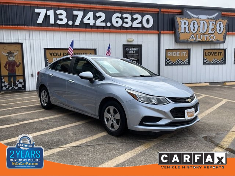 Chevrolet Cruze 2017 price $1,800 Down