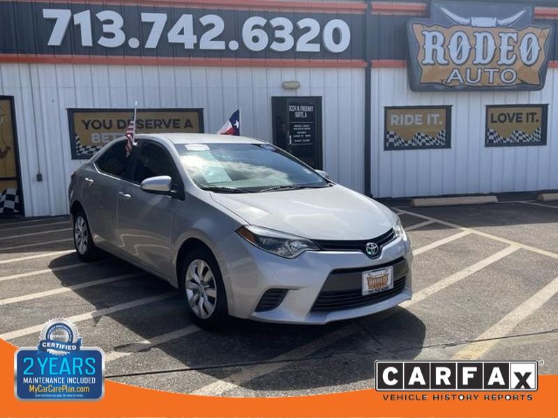 Toyota Corolla 2016 price $1,700